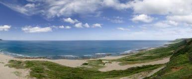 linia brzegowa panoramiczna Zdjęcie Stock