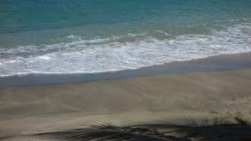 Linia brzegowa przy niską zatoki plażą zbiory
