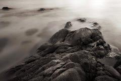 Linia brzegowa przy plażą Obraz Royalty Free