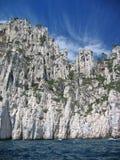 linia brzegowa Rivierze Zdjęcie Royalty Free