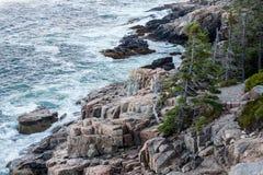 linia brzegowa rocky Obraz Stock