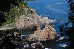 linia brzegowa rocky zdjęcia stock