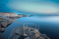 linia brzegowa szwedzi Obrazy Royalty Free