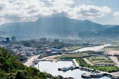 Linia brzegowa, Taipei, Tajwan Fotografia Stock
