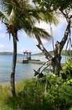linia brzegowa tropikalna Fotografia Royalty Free