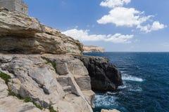 Linia brzegowa Valletta Zdjęcia Royalty Free