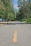 linia drogi żółty Zdjęcie Stock