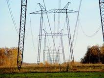 Linia energetyczna Obrazy Royalty Free
