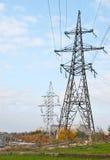 Linia energetyczna Obrazy Stock