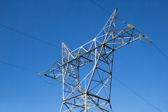 Linia energetyczna zdjęcie stock