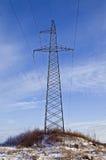 Linia energetyczna pilon. zdjęcie royalty free