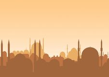 linia horyzontu arabska Zdjęcia Royalty Free