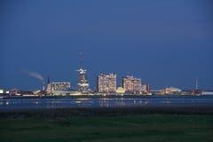 Linia horyzontu Bremerhaven Fotografia Royalty Free
