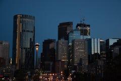 Linia horyzontu Calgary Zdjęcie Stock