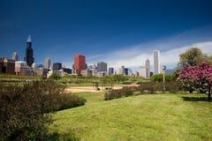 linia horyzontu chicago Obraz Royalty Free