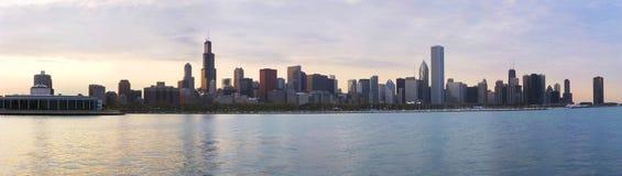 linia horyzontu chicago Zdjęcie Royalty Free
