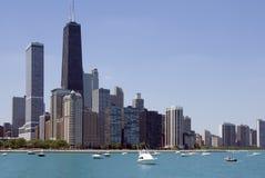 linia horyzontu chicago zdjęcia stock