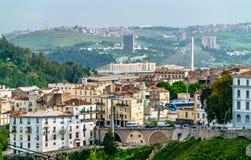 Linia horyzontu Constantine, ważny miasto w Algieria Obrazy Royalty Free