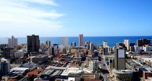 linia horyzontu Durban miasta. Obrazy Royalty Free