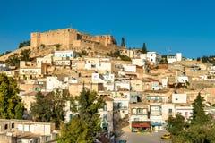 Linia horyzontu El Kef, miasto w północno-zachodni Tunezja Zdjęcie Stock