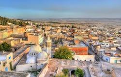 Linia horyzontu El Kef, miasto w północno-zachodni Tunezja Fotografia Stock