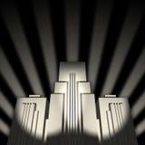 linia horyzontu futurystyczna Zdjęcie Stock