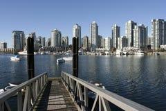 linia horyzontu granville wyspy Vancouver Zdjęcia Stock