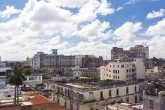 Linia horyzontu Hawański w Kuba Zdjęcie Stock