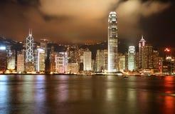 linia horyzontu hong kongu Fotografia Stock