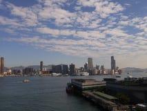 linia horyzontu hong kongu Zdjęcie Royalty Free