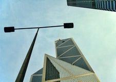 linia horyzontu hong kongu Zdjęcia Stock