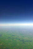 linia horyzontu jarzeniowa Fotografia Royalty Free