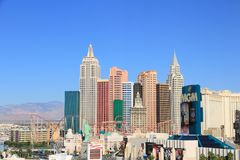 linia horyzontu las Vegas Zdjęcie Royalty Free