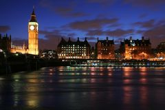 linia horyzontu london Obraz Royalty Free