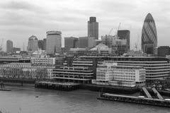 linia horyzontu london obrazy royalty free