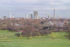 linia horyzontu london Zdjęcie Stock