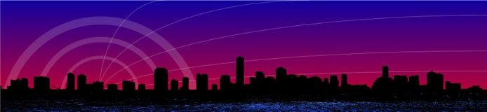 linia horyzontu miami