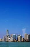 linia horyzontu miami Fotografia Stock
