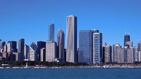 linia horyzontu miasta chicago fotografia stock