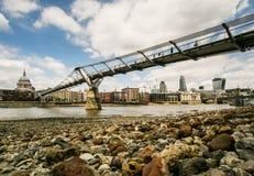 linia horyzontu miasta Londynu Obrazy Stock