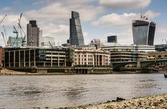 linia horyzontu miasta Londynu Obraz Stock