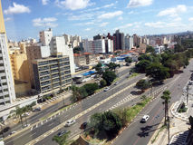 Linia horyzontu miasto Campinas Obrazy Royalty Free