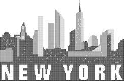 Linia horyzontu miasto Nowy Jork Zdjęcie Stock