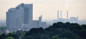 Linia horyzontu Monachium Fotografia Stock