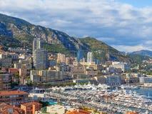 Linia horyzontu Monaco zdjęcie stock