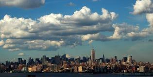 linia horyzontu nowego Jorku Obrazy Stock