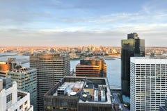linia horyzontu nowego Jorku ' Fotografia Stock