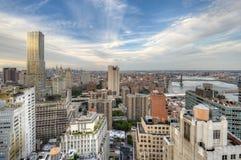 linia horyzontu nowego Jorku ' Zdjęcia Royalty Free