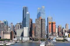 linia horyzontu nowego Jorku Zdjęcie Stock