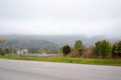 Linia horyzontu od Shenandoah parka narodowego Zdjęcia Royalty Free